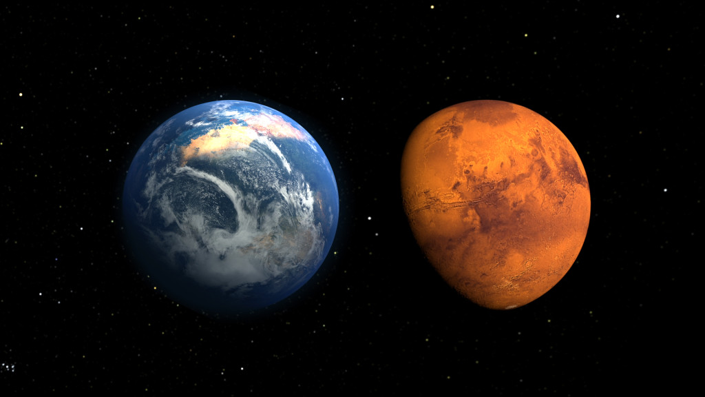 Mars suspicious probe