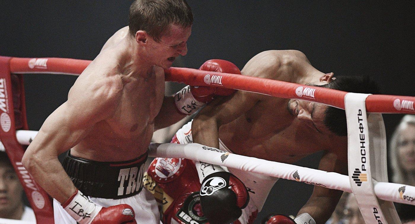 Боксерское шоу трояновский обара