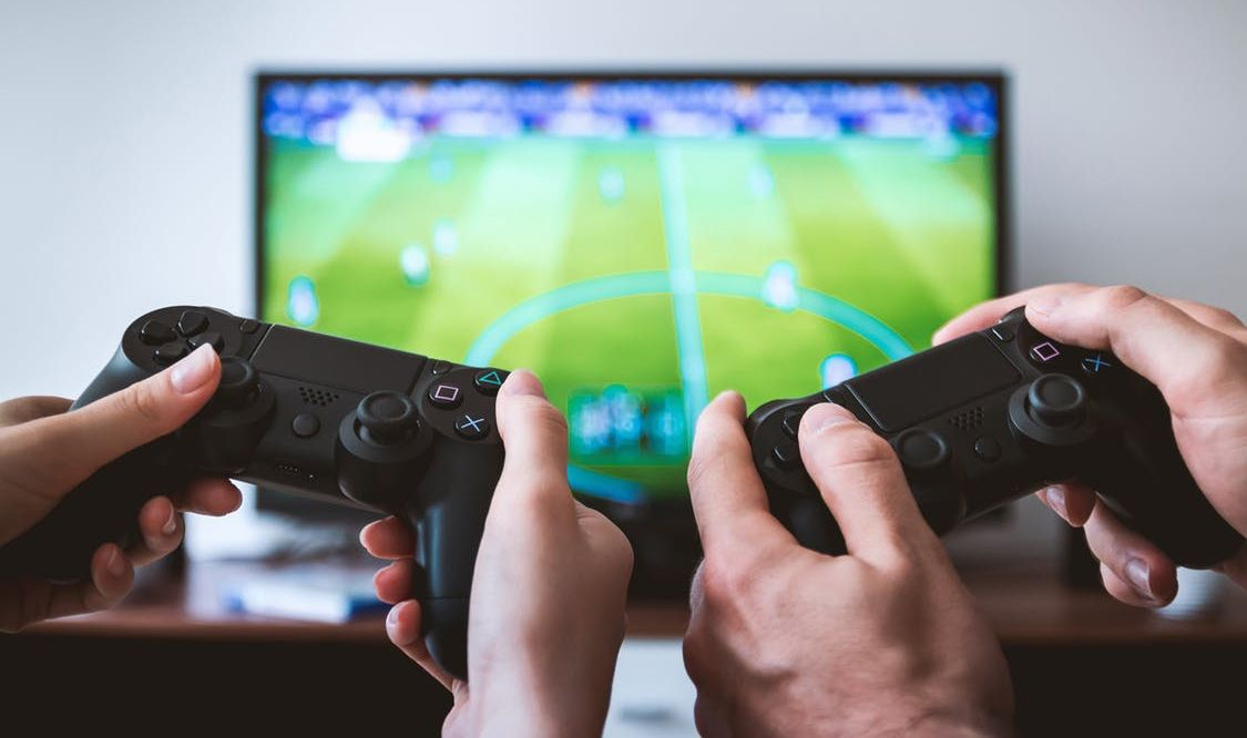 television and video and computer games