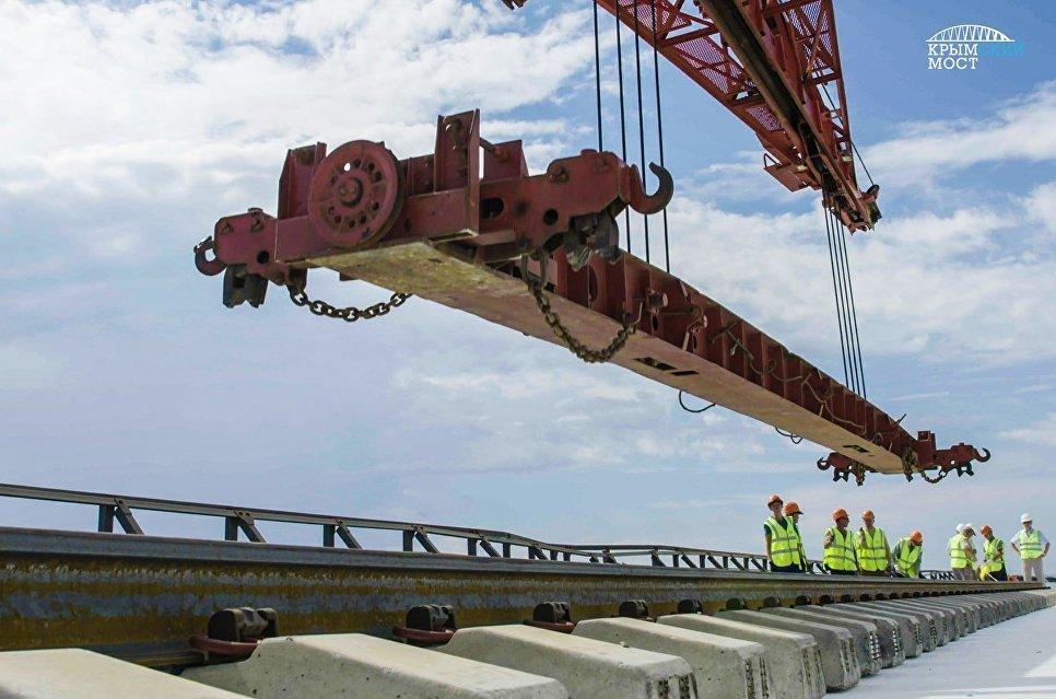 Раскрыты особенности железной дороги через Крымский мост