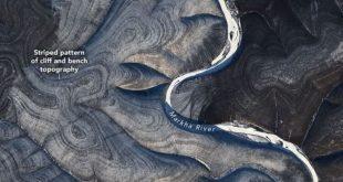 На поверхности Сибири обнаружены загадочные полосы. Что это такое?