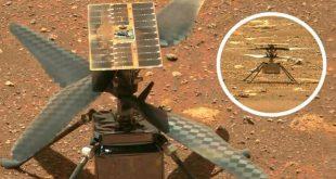 Вертолет NASA совершил свой первый полет на Марсе