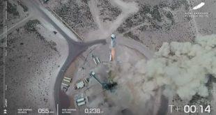 Blue Origin успешно запустила космический корабль New Shepard. Скоро в космос полетят люди