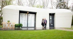 В Голландии сдан в аренду дом, напечатанный на 3D-принтере. Чем он хорош?