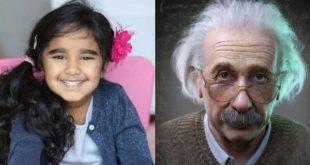 Четырехлетнюю девочку приняли в общество людей с высоким IQ
