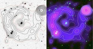 Во Внегалактическом пространстве обнаружены призрачные круги