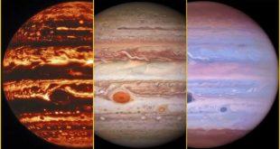 Получены новые фотографии Юпитера. Что в них особенного?